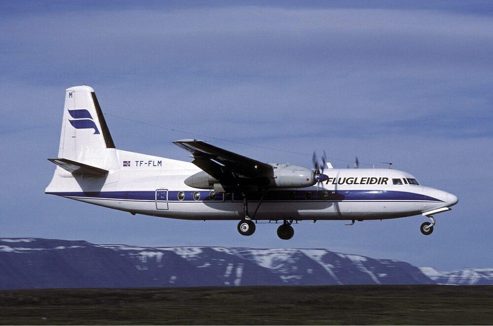 Icelandair Fokker F27