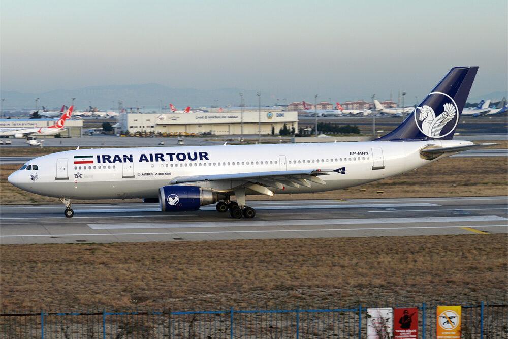 Iran Airtour Airbus A300