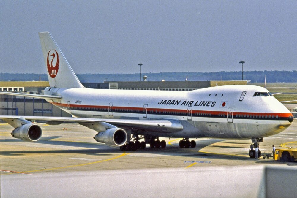 Japan Airlines Boeing 747-200