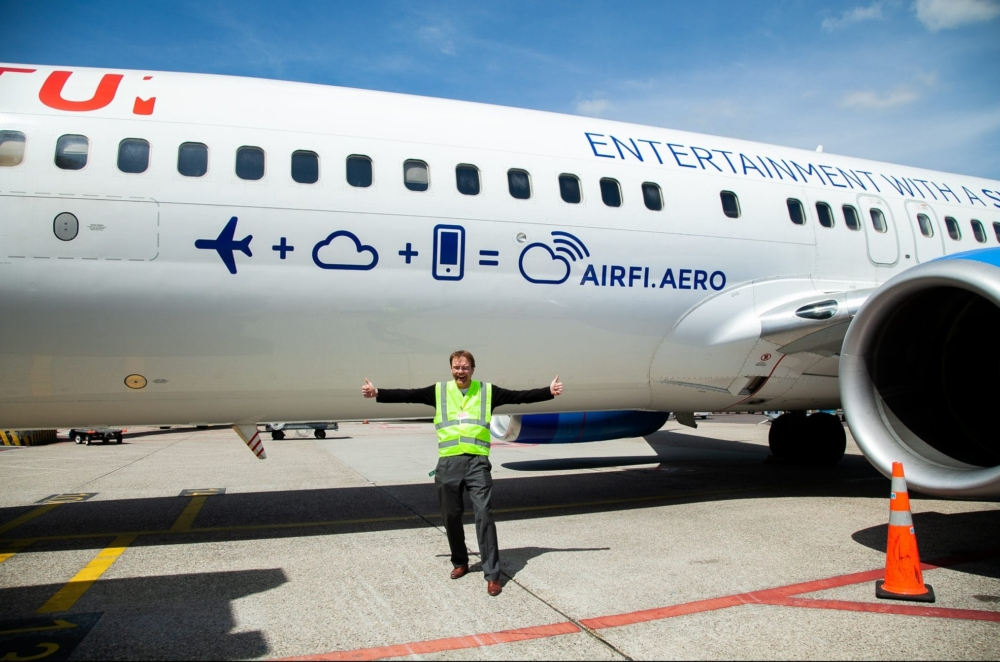 Job with plane