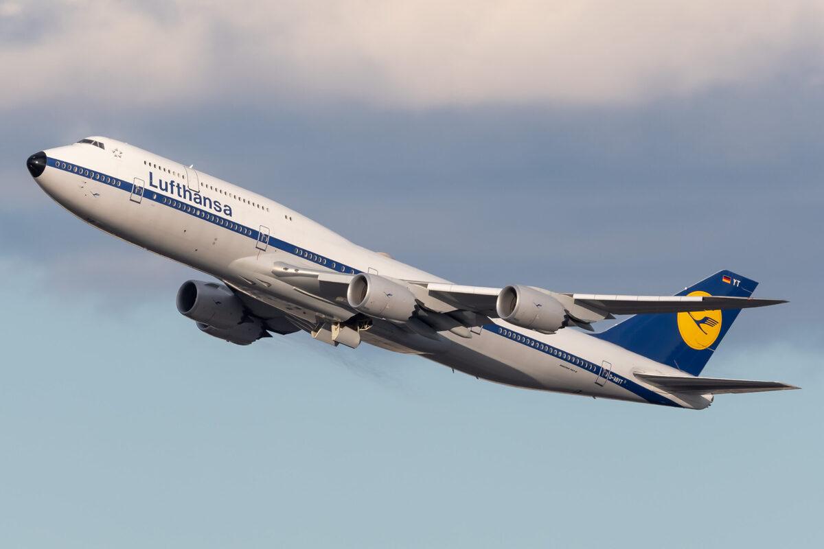 Lufthansa, Boeing 747, Mallorca