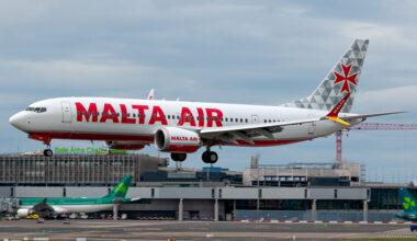 Malta Air, Ryanair, Boeing 737 MAX
