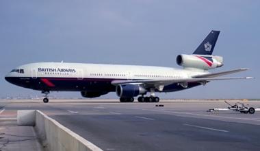 British Airways DC-10