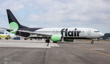 Flair Airlines 737 MAX