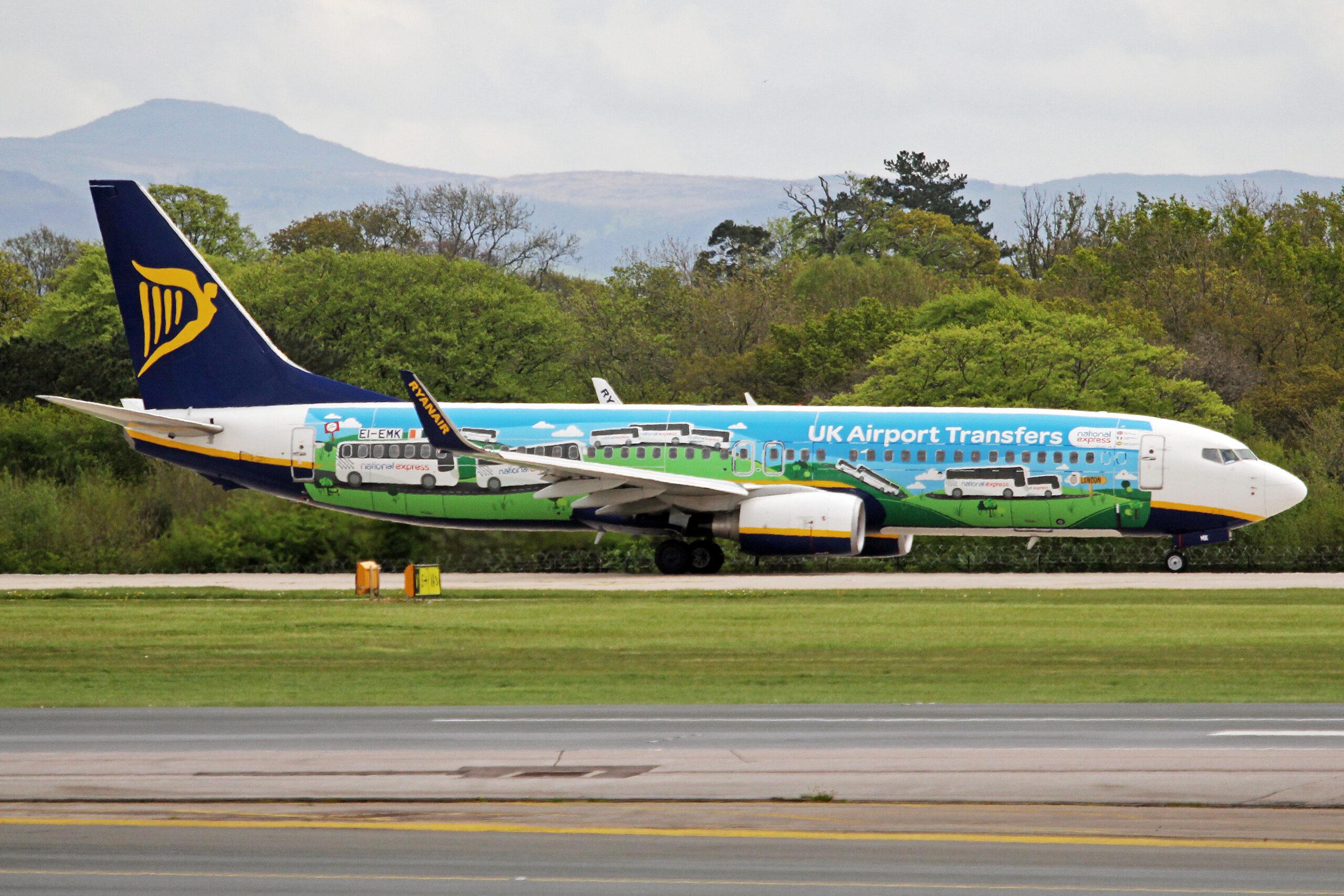 Ryanair, Boeing 737, Advertisement