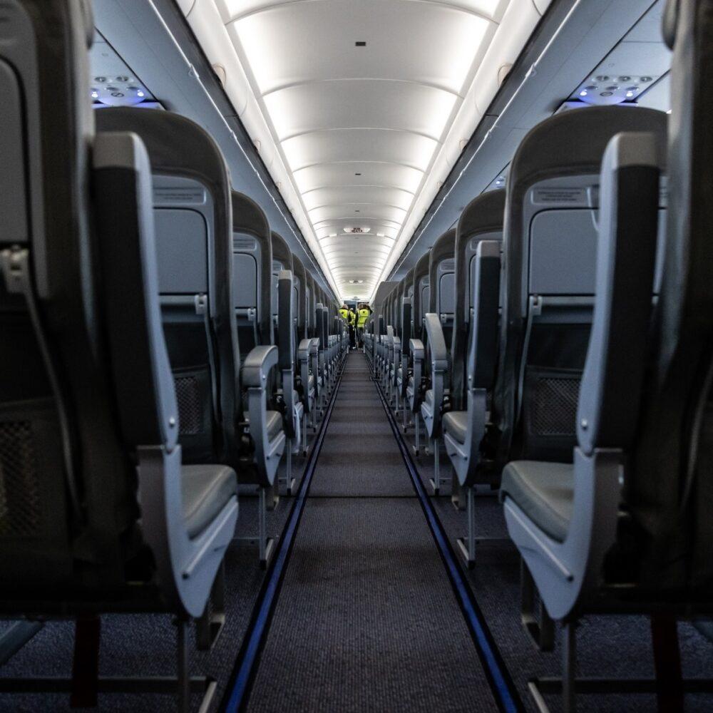 PLAY aircraft cabin