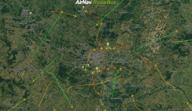 RadarBox.com, Flight Tracking, Aircraft Trails