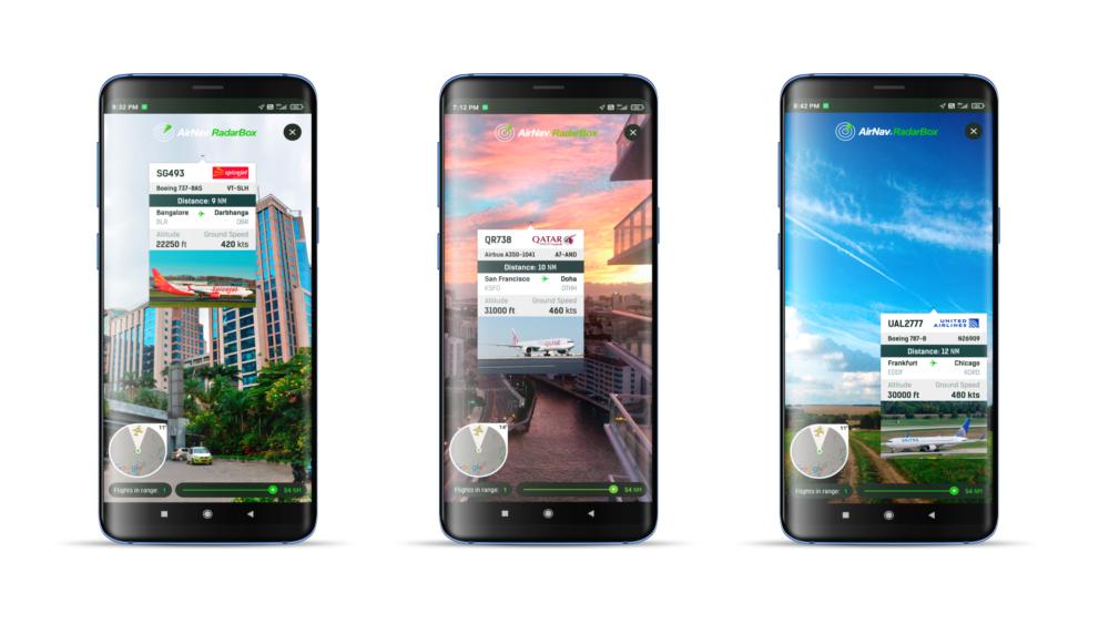 AirNav RadarBox Announces Augmented Reality Flight Tracking