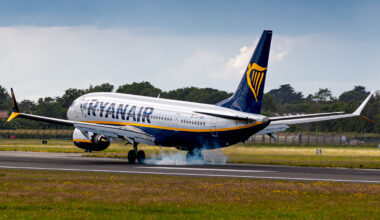 Ryanair, Boeing 737 MAX, destinations