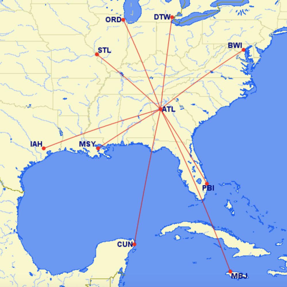 ATL Routes