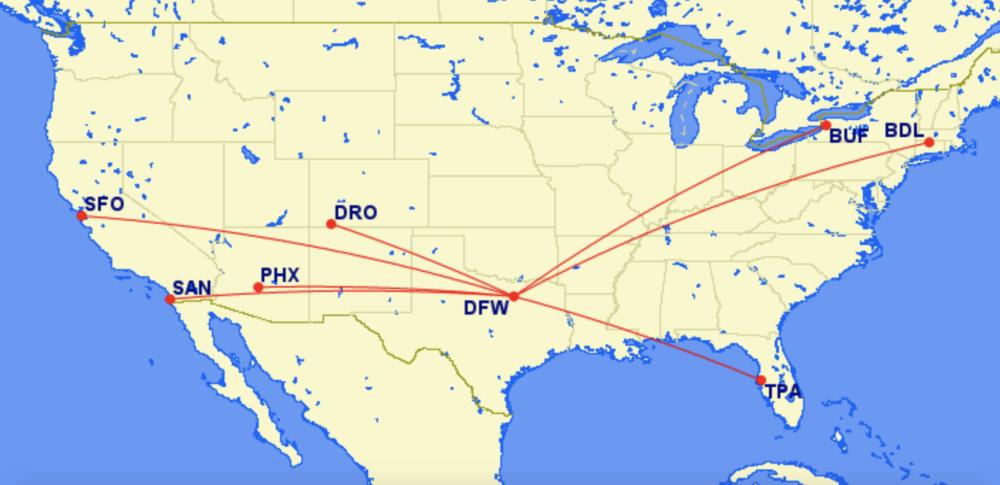 DFW Routes