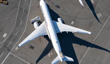 Singapore Airlines, Fleet, Loss