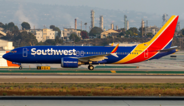 Southwest MAX 8