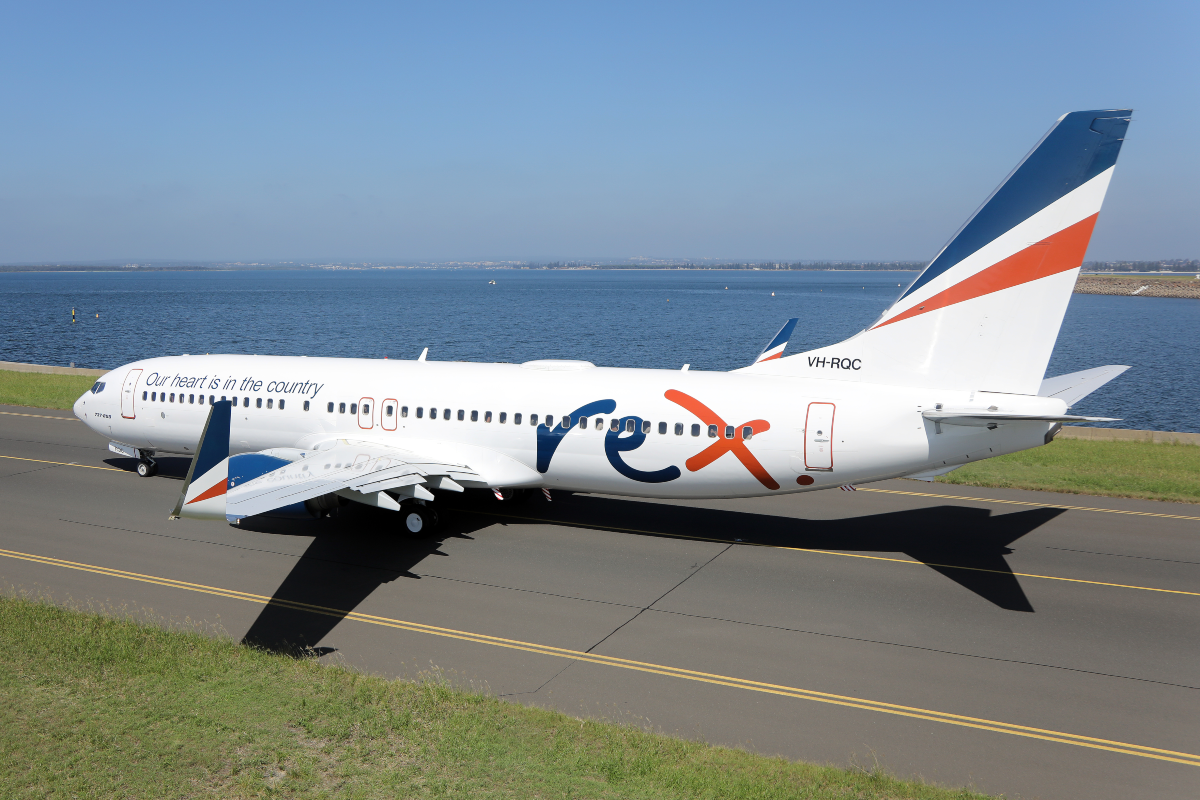 Rex Grounds Its Entire Boeing 737 Fleet