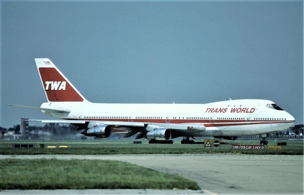 TWA 747 Jet