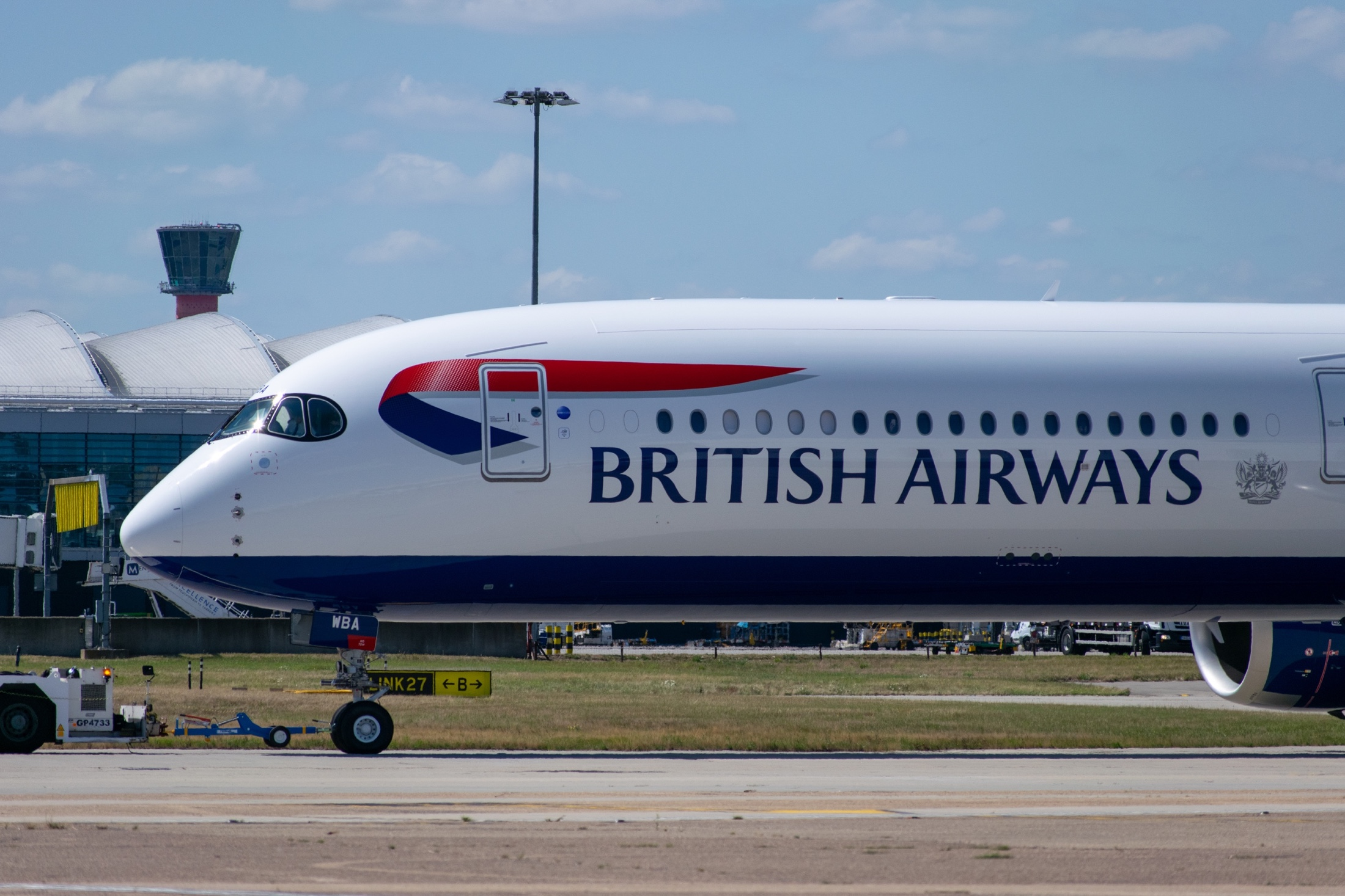 British Airways, Airbus A350, Destinations