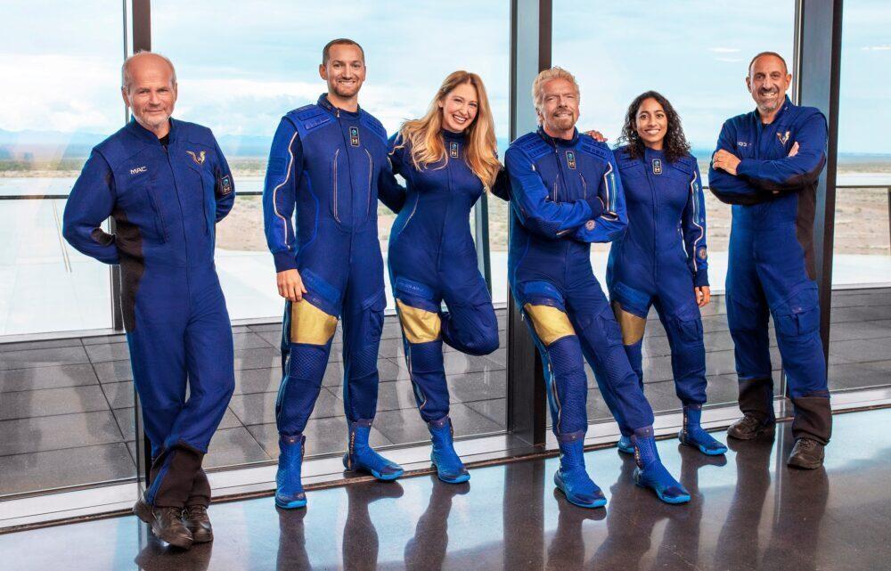 Virgin Galactic Unity 22 Crew