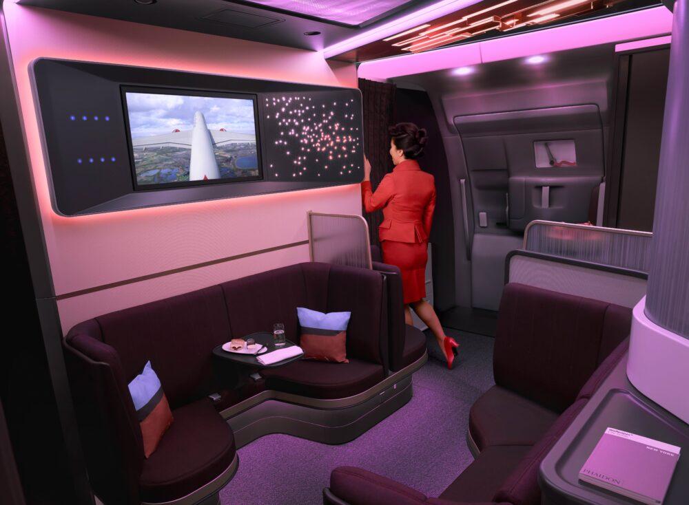 The loft Virgin Atlantic A350
