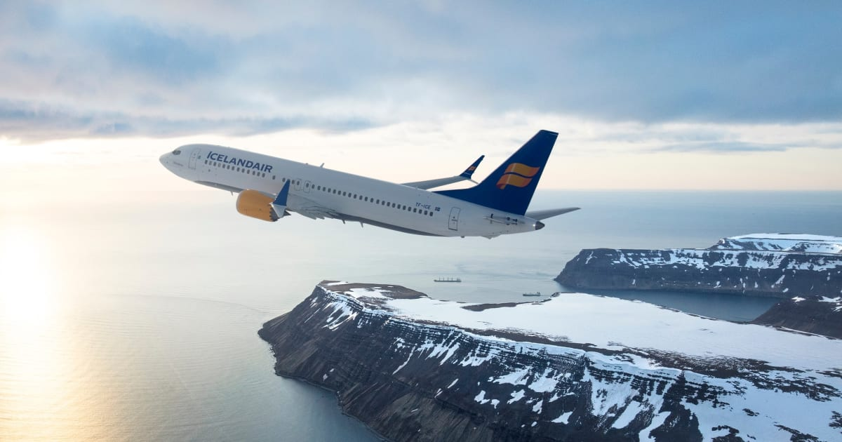 Icelandair Is Happy With Its Boeing 737 MAX Aircraft