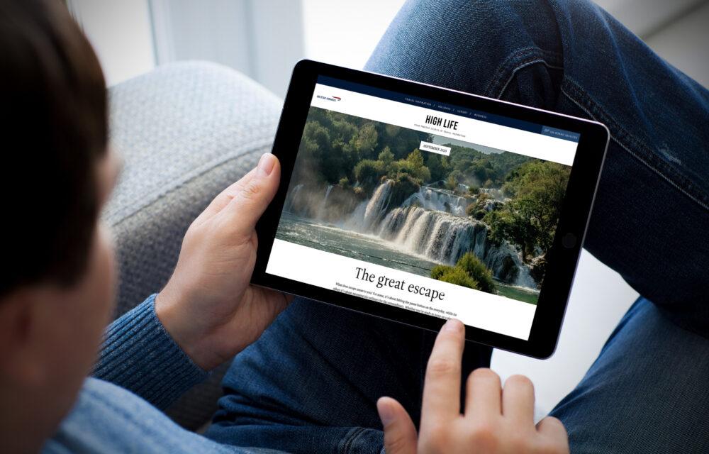 british airways high life digital magazine