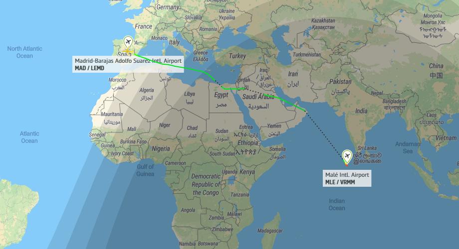 Iberia Inaugurates Flights To The Maldives