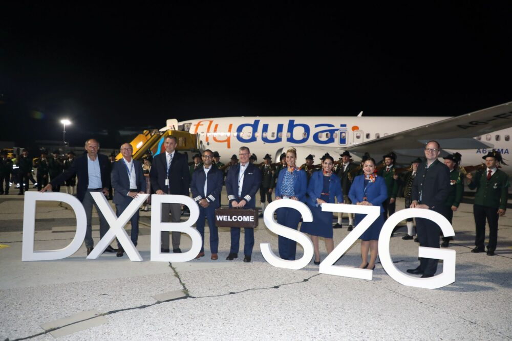 flydubai begins Dubai to Salzburg