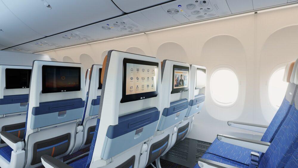 flydubai Boeing 737 MAX 8 Economy Class