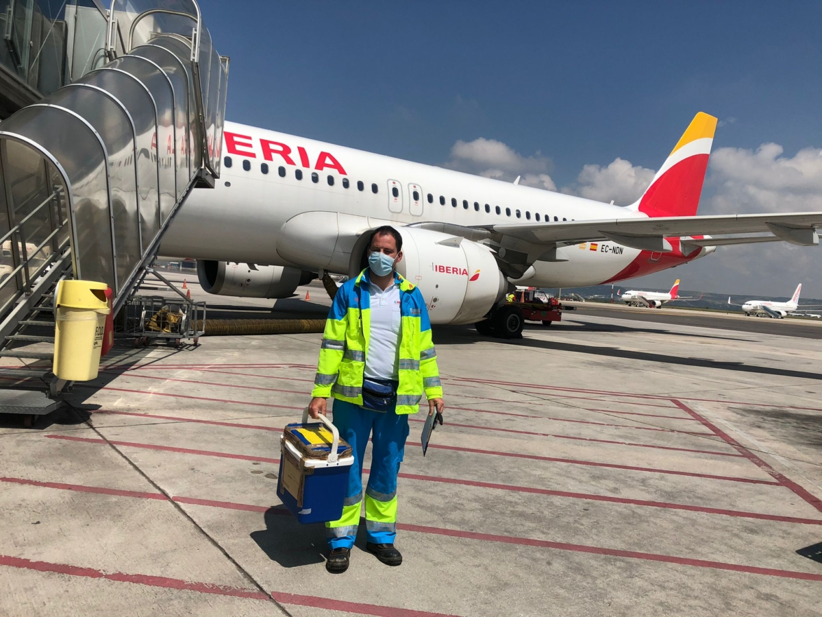 Iberia Flew Half Of All Organs Donated For Transplant In Spain