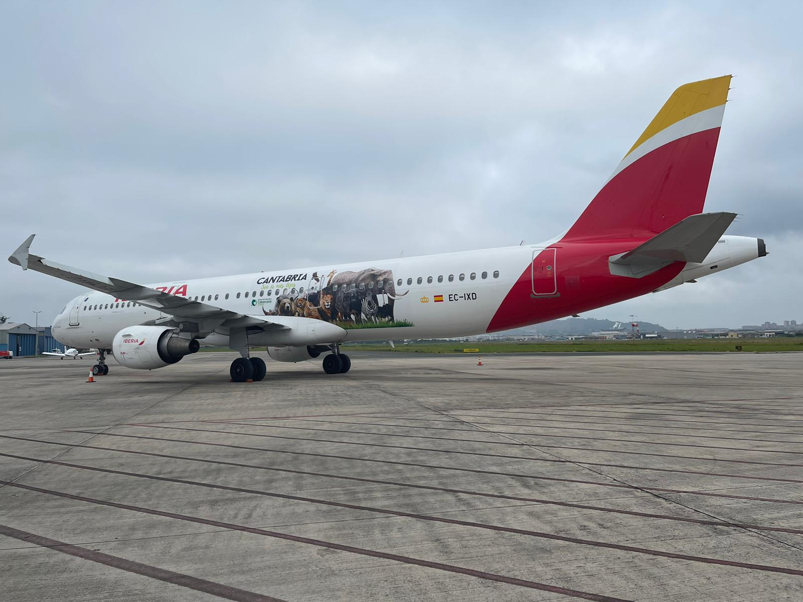 Iberia Launches New Livery To Promote Northern Spain