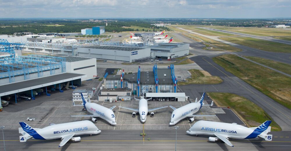 Airbus Beluga fleet