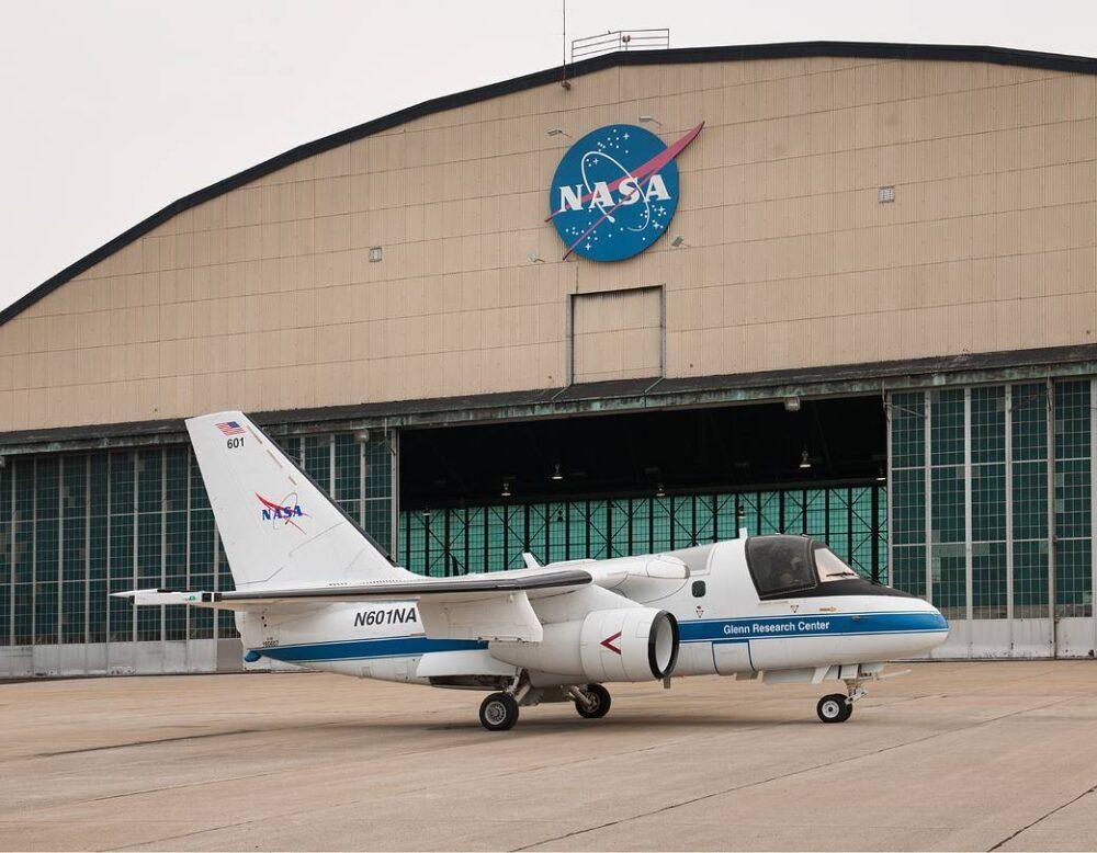 NASA Lockheed S-3B Viking