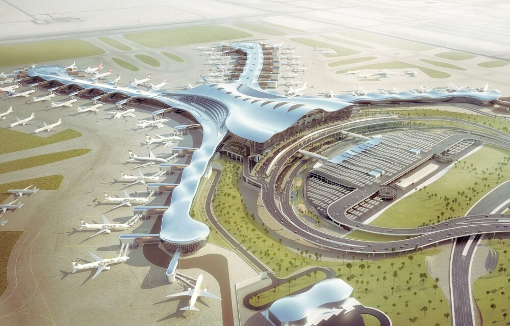 contract canceled for new abu dhabi airport terminal Contract canceled for new Abu Dhabi Airport Terminal tds architecture abu dhabi 01 1000x640