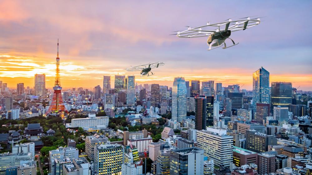 Japan Airlines Volocopter eVTOL