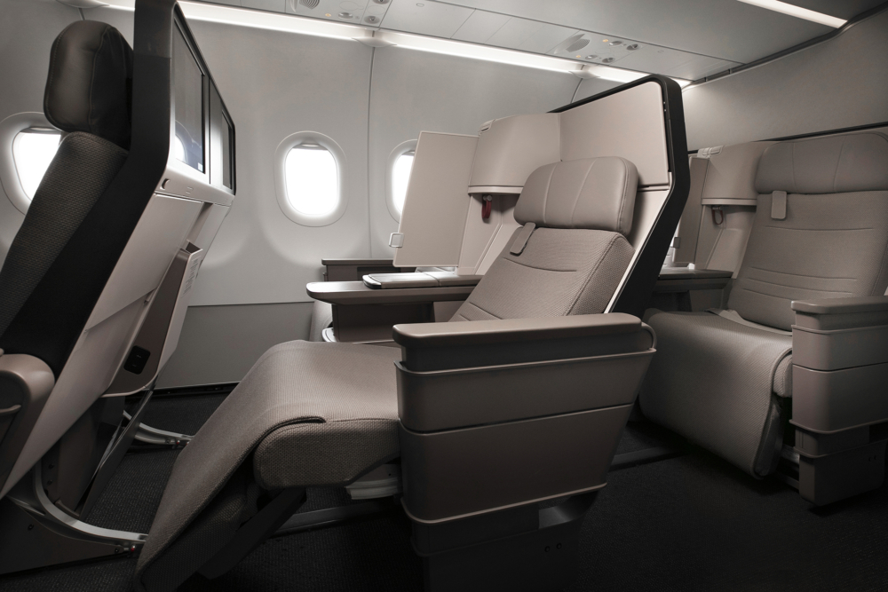 Cathay A321neo Cabin