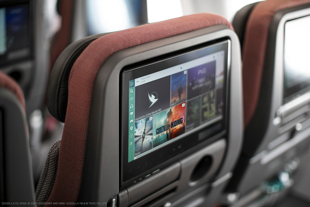 Cathay Pacific A321neo IFE
