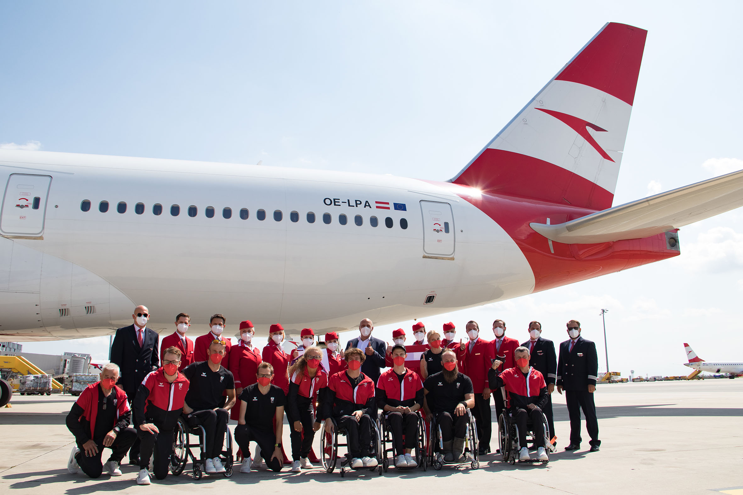 British Airways, Paralympic Games, 2020