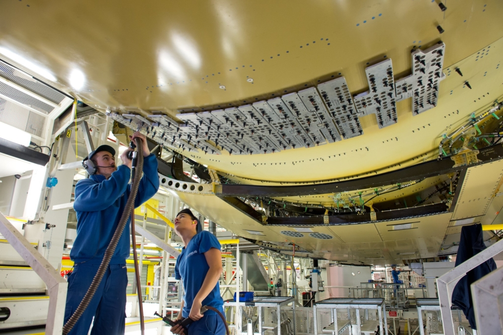Airbus A350 Fuselage Join