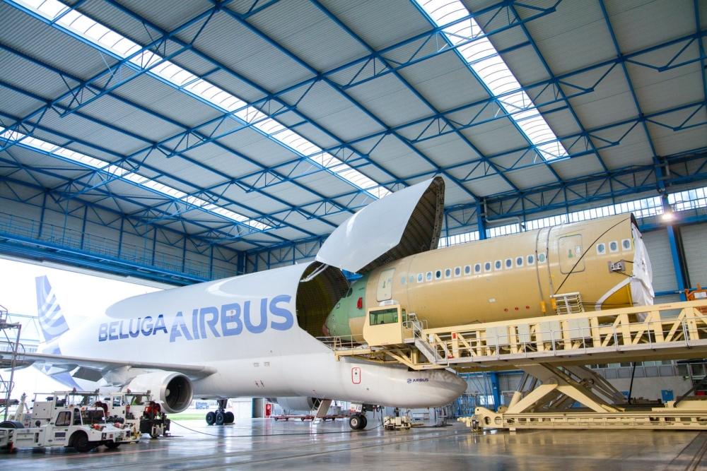 Airbus Beluga A350 Fuselage