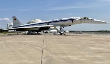 Tupolev Tu-144 Side