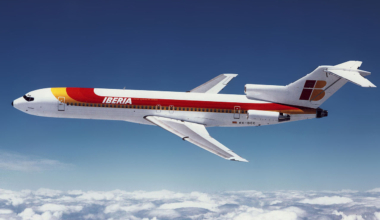 Iberia Boeing 727-200