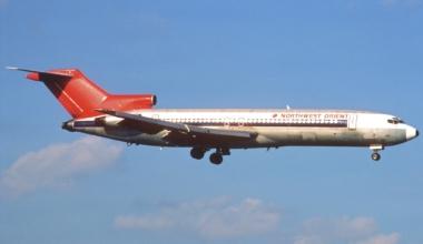 D B Cooper Boeing 727
