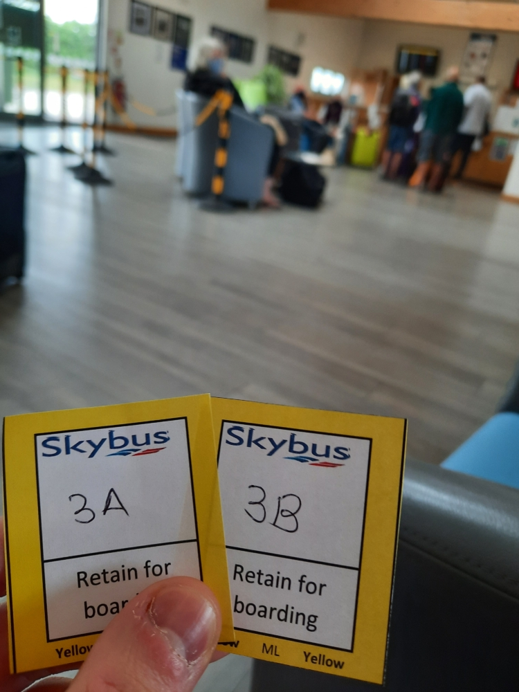 Isles of Scilly Skybus Boarding Passes