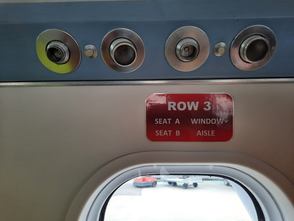 Isles of Scilly Skybus Cabin
