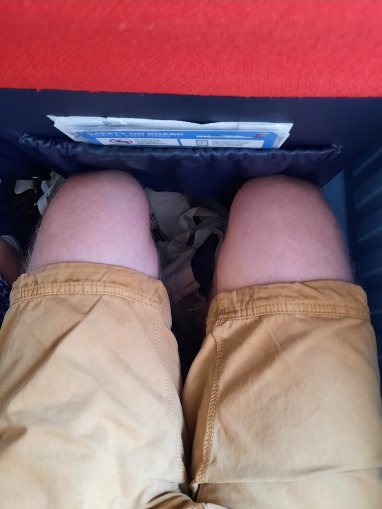Isles of Scilly Skybus Legroom
