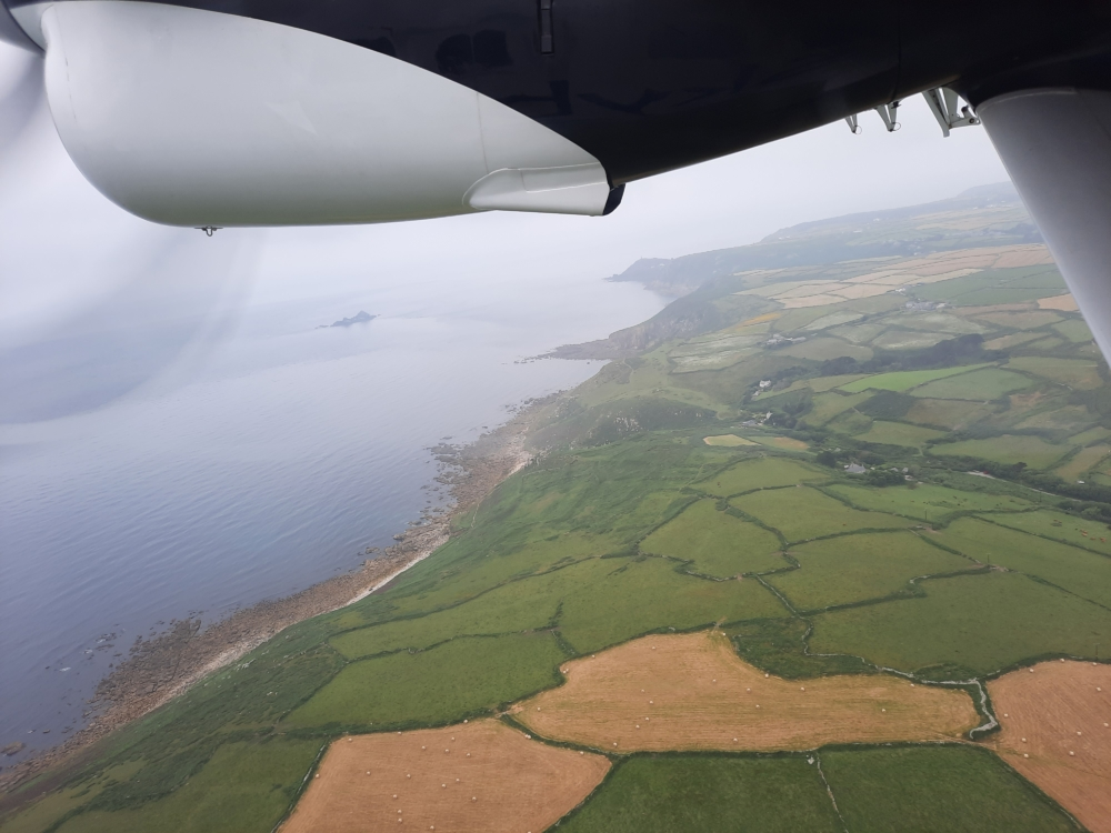 Land's End Airport Departure