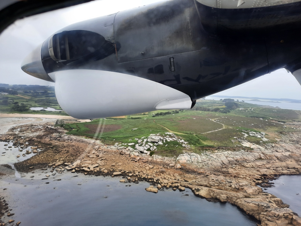 St Mary's Airport Approach