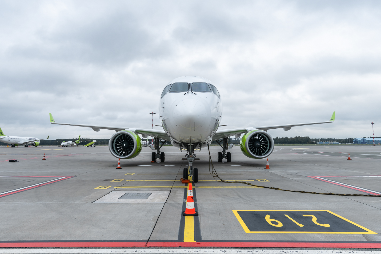 airBaltic, Airbus A220, Largest carrier