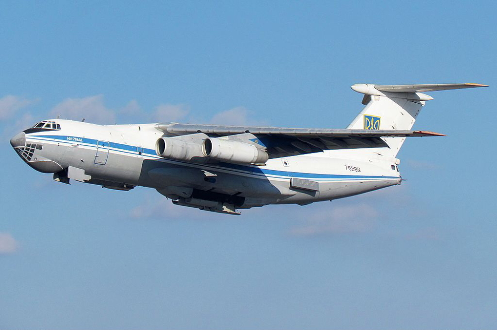 Ukrainian Il-76 Kabul evacuation