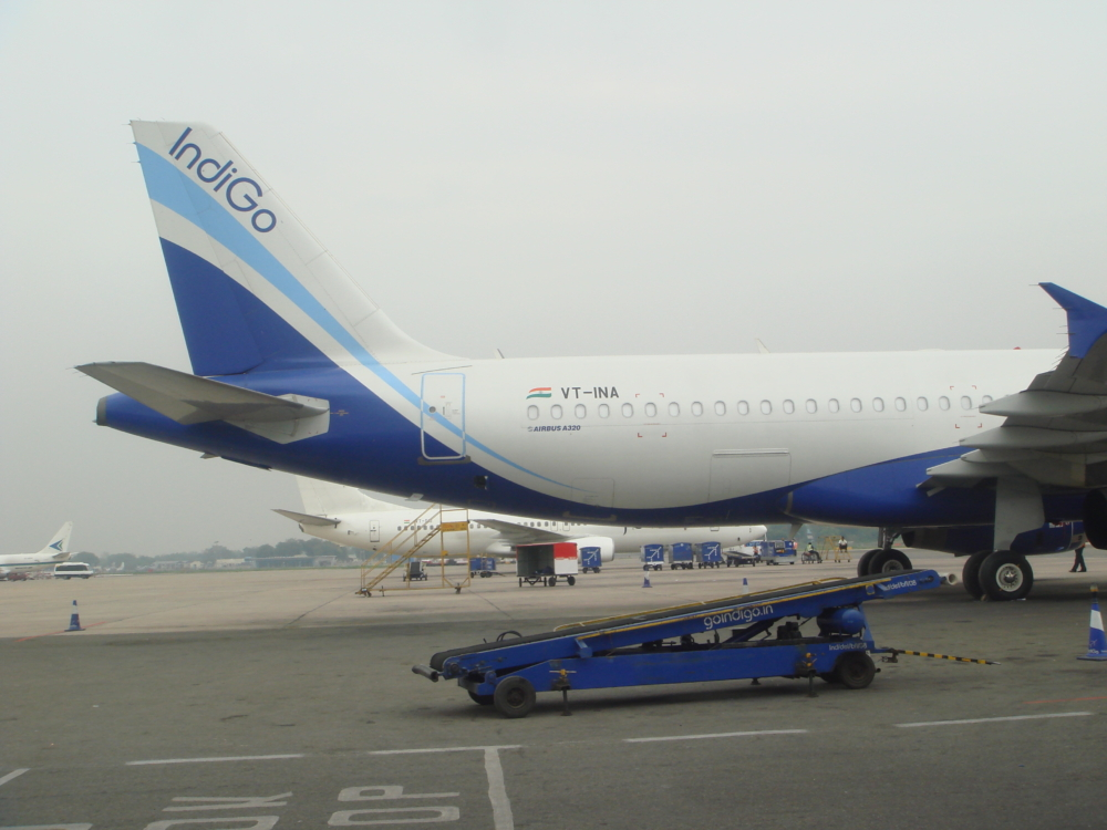 IndiGo VT-INA First Aircraft