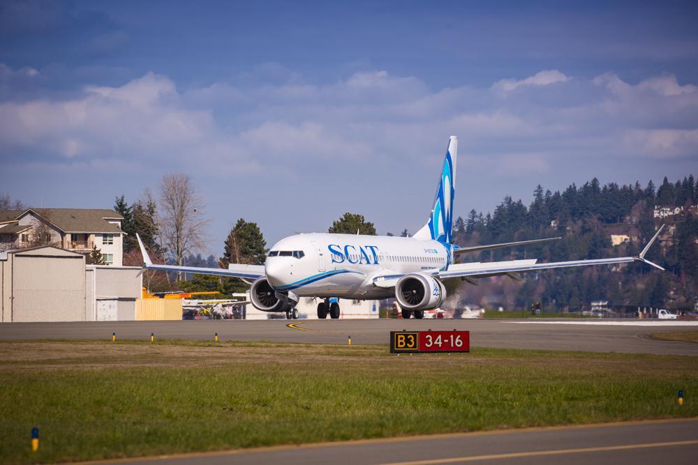 SCAT 737 MAX 8